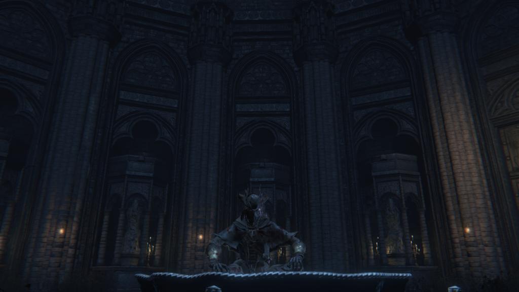 古教会の水盆